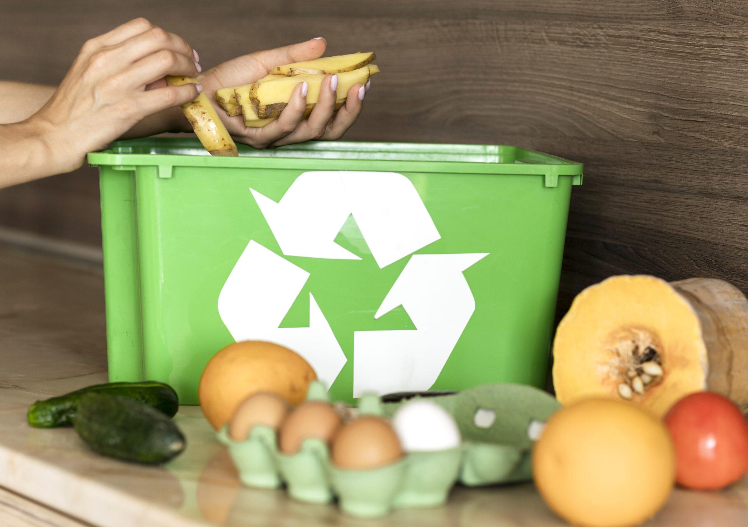 Manieren om de verspilling van Voedsel